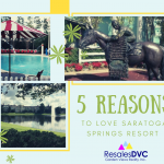 Top Reasons to Love Disney's Saratoga Springs Resort & Spa