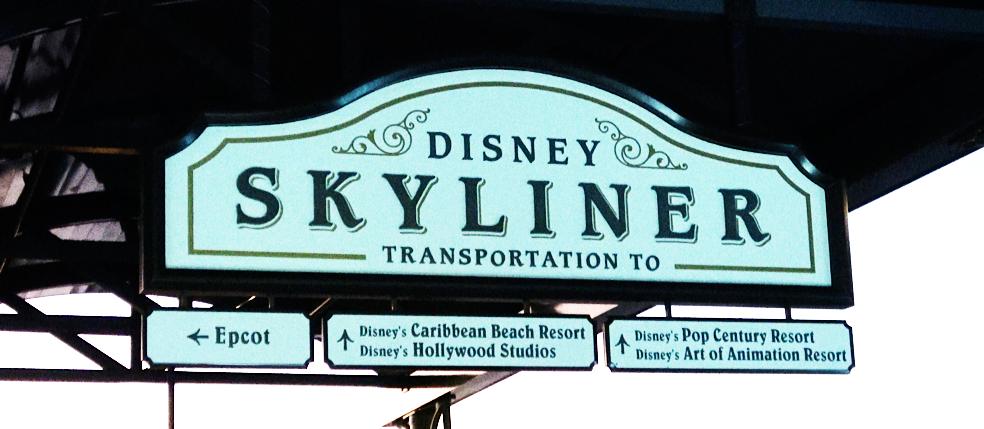 Skyliner Transportation Disney's Riviera Resort Orlando Florida Resales DVC