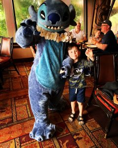 Ohana Character Breakfast Stitch Disney's Polynesian Village Resort Orlando Florida Resales DVC