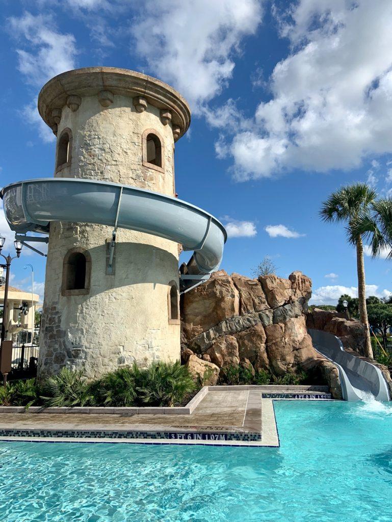 Pool Tower Disney's Riviera Resort Orlando Florida Resales DVC