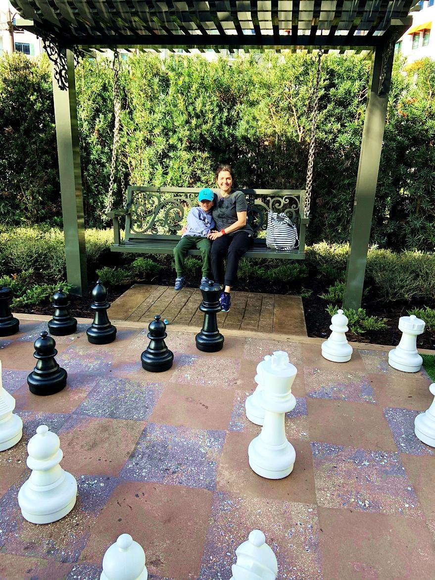 Games Lawn Disney's Riviera Resort Orlando Florida Resales DVC