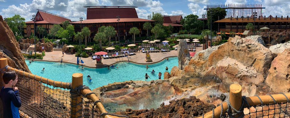 Lava Pool at Disney's Polynesian Village Resort Orlando Florida Resales DVC