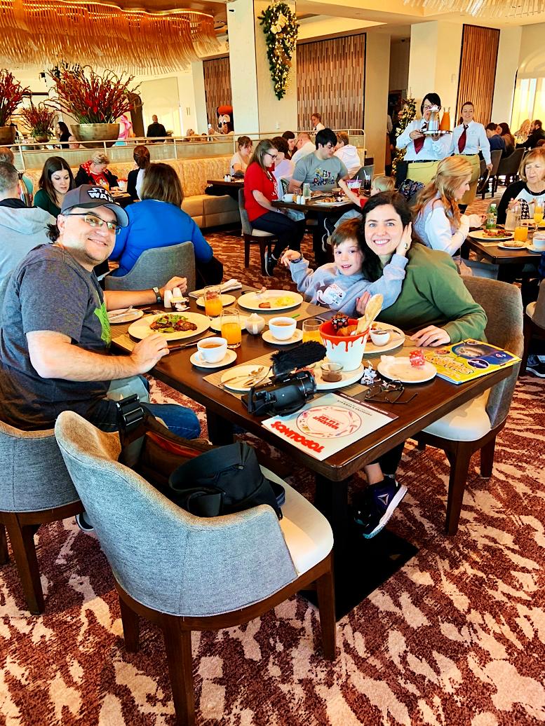 Character Breakfast at Riviera's Topolino's Rooftop Terrace Disney's Riviera Resort Orlando Florida Resales DVC