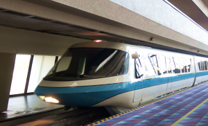 Monorail Disney's Polynesian Village Resort Orlando Florida