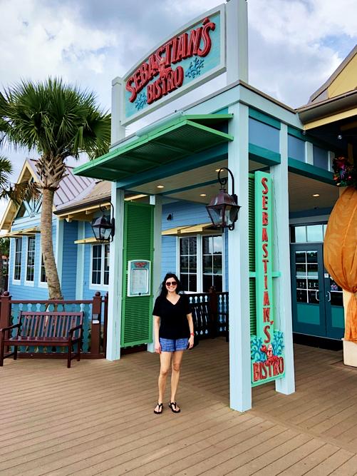 Sebastian's Bistro at Disney's Caribbean Resort