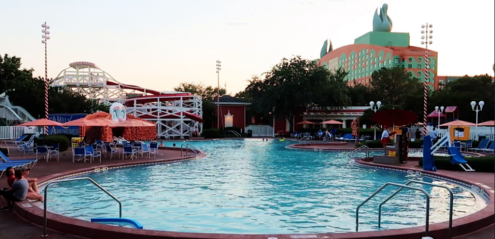 Disney Boardwalk Villas Pool