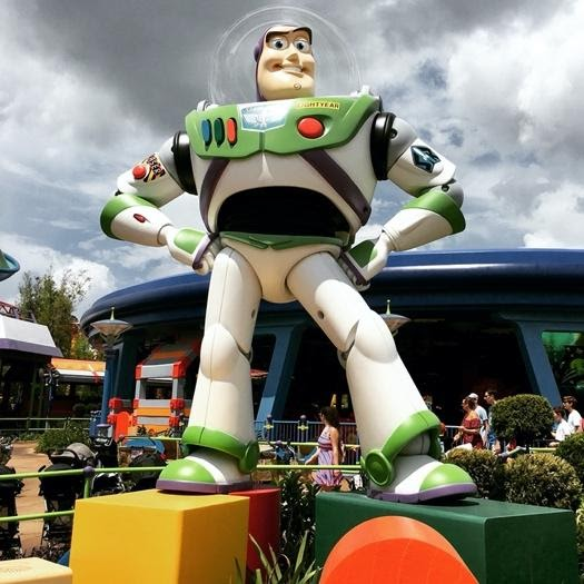 Buzz Lightyear Disney's Toy Story Land Hollywood Studios
