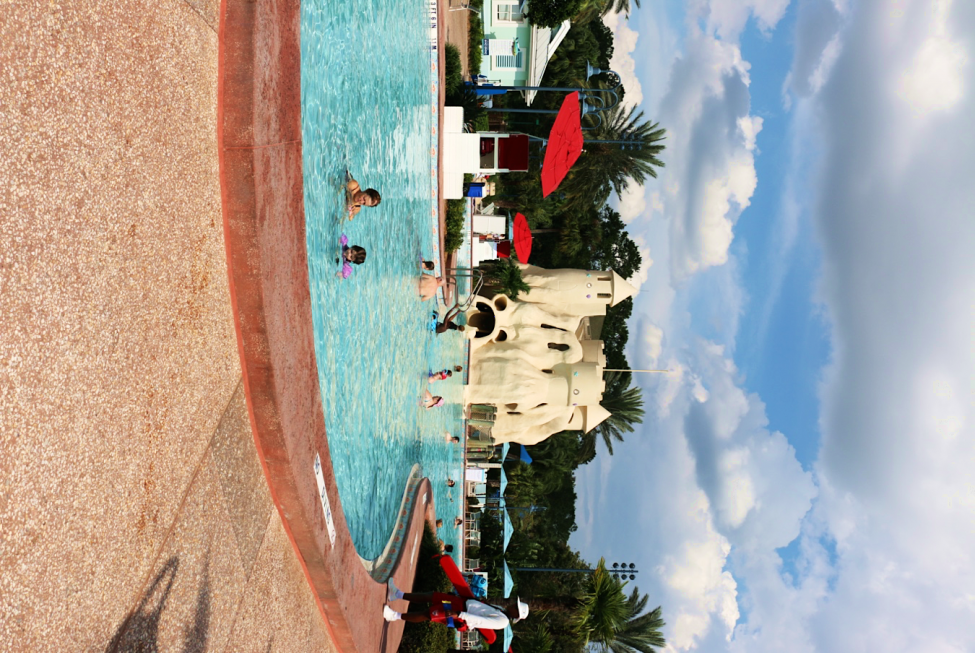 Pool at Disney's Old Key West Resort