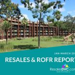 First Quarter 2021 - DVC Resales and ROFR Report