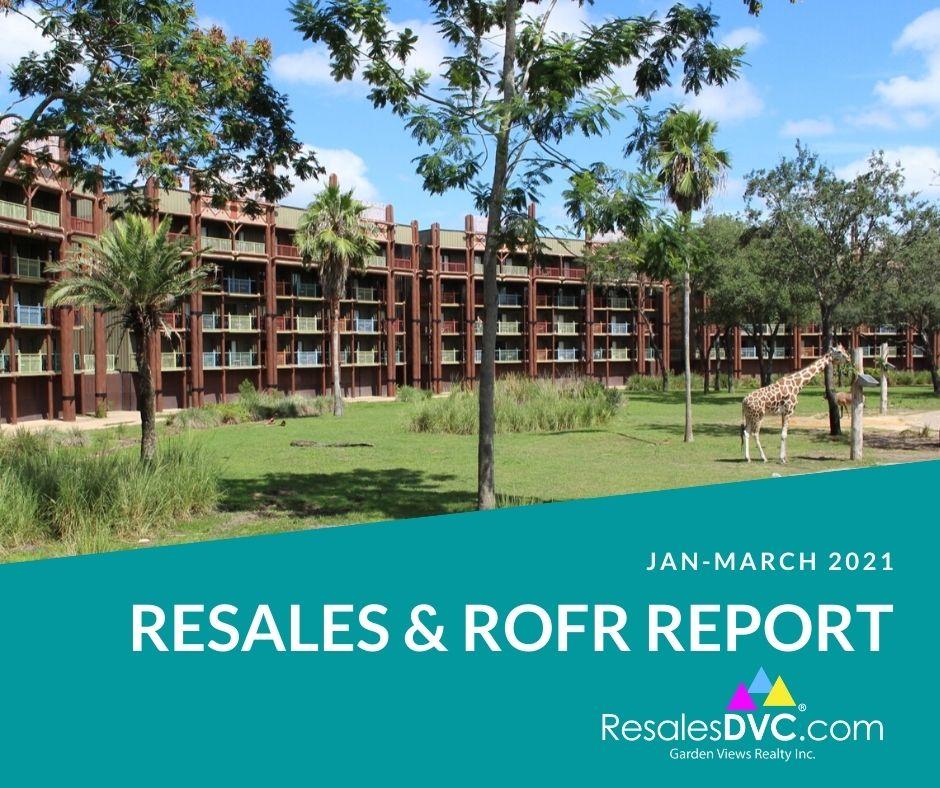 DVC RESALE ROFR REPORT