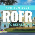 SECOND QUARTER 2021 – DVC RESALES AND ROFR REPORT